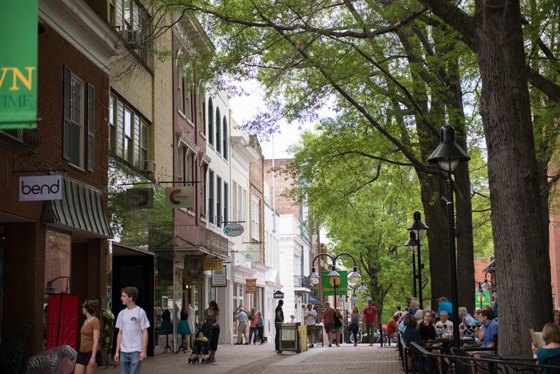 City of Charlottesville, VA - Downtown Mall