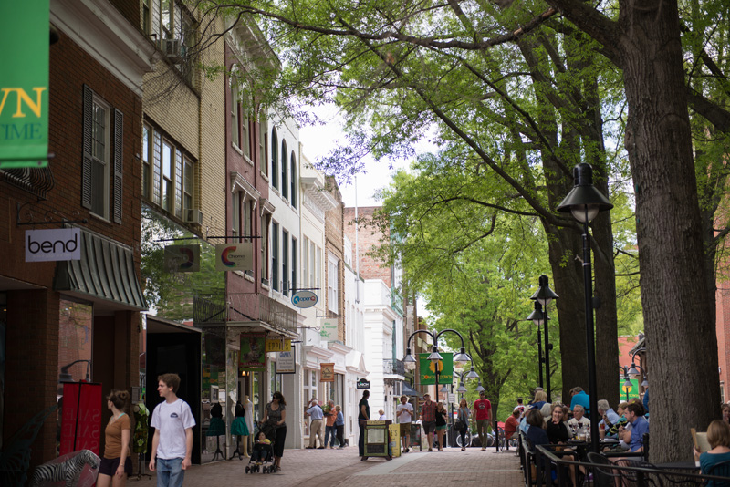 City of Charlottesville, VA - Downtown Mall